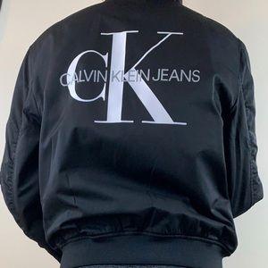 Calvin Klein women's bomber jacket